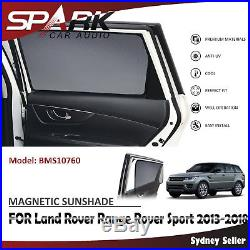 MAGNETIC CAR WINDOW SUN SHADE BLIND FOR Land Rover Range Rover Sport 2013-2018