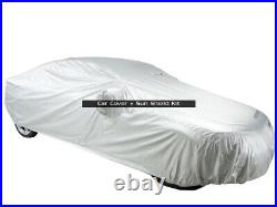 MCarcovers Fit Car Cover + Sun Shade Fits 2003-2004 Infiniti M45 MBSF-129128