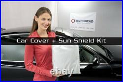 MCarcovers Fit Car Cover + Sun Shade Fits 2015-2019 Audi Q3 MBSF-O-018