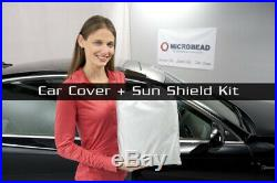 MCarcovers Fit Car Cover + Sun Shade for 2008-2016 Mitsubishi Lancer MBSF O-0260