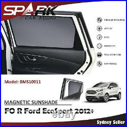 Magnetic Car Window Sun Shade Blind Mesh Rear Door For Ford Ecosport 2012+