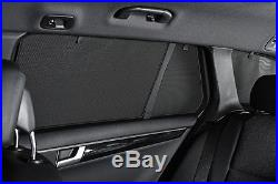 Mazda 3 5dr 2009-14 UV CAR SHADES WINDOW SUN BLINDS PRIVACY GLASS TINT BLACK