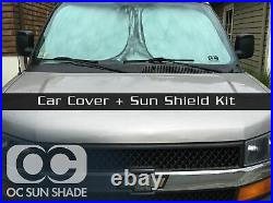 Mcarcovers Fleece Car Cover + Sun Shade for 2006-2009 Nissan 350Z MBFL-140601