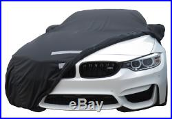 Mcarcovers Fleece Car Cover + Sun Shade for 2013-2017 BMW 428i MBFL-N1005