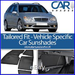 Mercedes C Class Estate 00-07 UV CAR SHADES WINDOW SUN BLINDS PRIVACY GLASS TINT