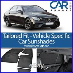 Mercedes E Class 4dr 2016 On UV CAR SHADES WINDOW SUN BLINDS PRIVACY GLASS TINT