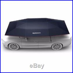 Mynew Portable Removable Automatic Car Umbrella Sunshade Cover With Wireless