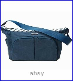 NEW Blue Doona Infant Car Seat with Base, Sunshade and Essentials Bag