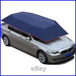 New Car Vehicle Tent Sunshade Roof Cover Umbrella Anti-UV Semiautomatic F Cosp