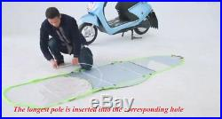 New Universal Car Motor Scooter Mobility Rain Sun Shade Umbrella Safe Cover