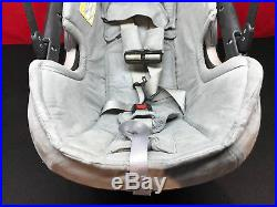 Orbit Baby G2 Car Seat & BASE Black/Grey with White Sunshade USED CONDITION #1
