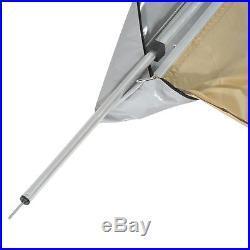 Outsunny 6.6x8.2ft Car Side Awning Tent SUV Sun Shade Travel Camping Anti-UV