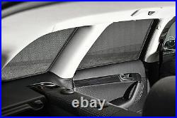 Peugeot 107 5dr 05- UV CAR SHADES WINDOW SUN BLINDS PRIVACY GLASS TINT BLACK