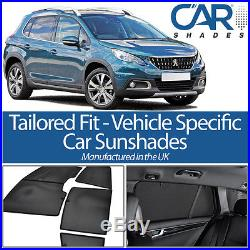 Peugeot 2008 5dr 2013+ CAR WINDOW SUN SHADE BABY SEAT CHILD BOOSTER BLIND UV