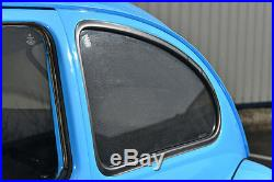 Peugeot 208 5dr 12 On UV CAR SHADES WINDOW SUN BLINDS PRIVACY GLASS TINT BLACK