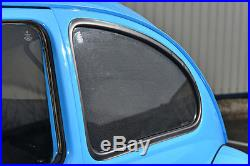 Peugeot 5008 5dr 2009- UV CAR SHADES WINDOW SUN BLINDS PRIVACY GLASS TINT BLACK