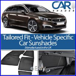 Peugeot 508 Estate 11 On UV CAR SHADES WINDOW SUN BLINDS PRIVACY GLASS TINT