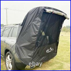 Portable Camping Car SUV Trunk Tent Camping Tail Extension Sunshade Rainproof