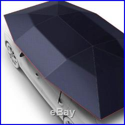 Portable Semi-automatic Car Roof Cover Umbrella Sunshade Roof Tent UV