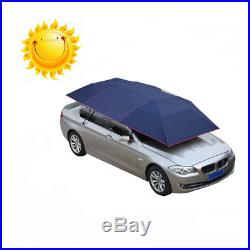 Portable Semi-automatic Car Roof Cover Umbrella Sunshade Roof Tent UV PRO