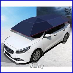 Portable Semi-automatic Car Roof Cover Umbrella Sunshade Roof Tent UV Protection