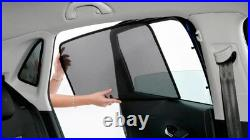 Rear Door Car Window Sun Shade Shield Blind Mesh For Opel Astra H Hb 5d 2004-15