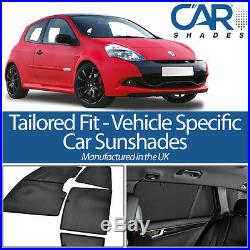 Renault Clio 3dr 05-13 CAR WINDOW SUN SHADE BABY SEAT CHILD BOOSTER BLIND UV