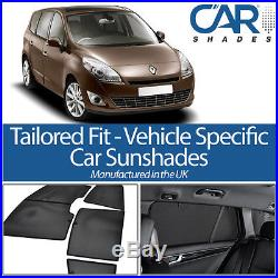Renault Grand Scenic 5dr 09- UV CAR SHADES WINDOW SUN BLINDS PRIVACY GLASS TINT