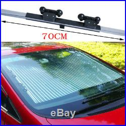 Retractable Car Front Window Sun Shade Visor Folding Auto Windshield Block Cover