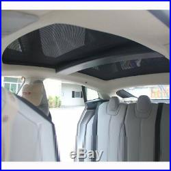 Roof Sunshade Sun Visor Shield Car shade Sunscreen For Tesla Model S