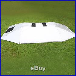 Semi-automatic Outdoor Car Tent Umbrella Sunshade Roof Cover UV Protection Handy