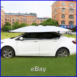 Semi-automatic Outdoor For Car Tent Umbrella Sunshade Roof Cover UV Protection