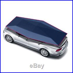 Semi-automatic Sunshade Tent Umbrella for Cars Portable UV Protection Roof Cover