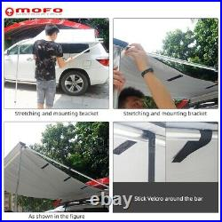 Side Roof Top Awning Car SUV 4WD Camping Outdoor Camper Tent Sun Shade Shelter