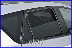 Smart Fortwo 2000-2007 UV CAR SHADES WINDOW SUN BLINDS PRIVACY GLASS TINT BLACK