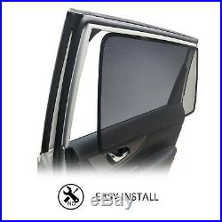 Sp Magnetic Car Window Sun Shade Blind Rear Door For Toyota Kluger 2014-2018