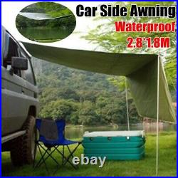 Tent Car Side Awning Rooftop Sunshade Outdoor Camping Travel Tent 2.8x1.8M