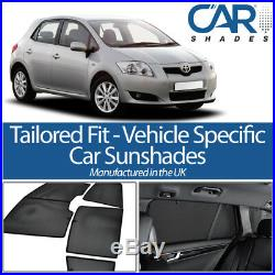 Toyota Auris 5dr 2007-12 CAR WINDOW SUN SHADE BABY SEAT CHILD BOOSTER BLIND UV