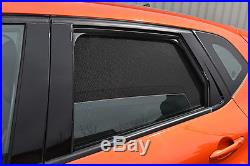 Toyota Avensis 4dr 09- UV CAR SHADES WINDOW SUN BLINDS PRIVACY GLASS TINT BLACK