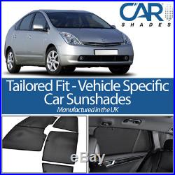 Toyota Prius 5dr 04-09 UV CAR SHADES WINDOW SUN BLINDS PRIVACY GLASS TINT BLACK