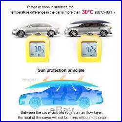 Universal Automatic Car Umbrella Tent Remote Control Sun Shade Cover Waterproof