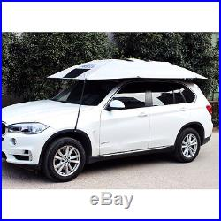Universal Portable Car Tent Sun Shade Umbrella Shading Roof Cover Outdoor Awning