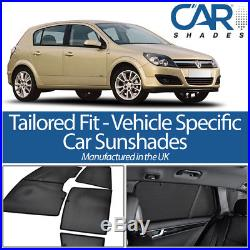 Vauxhall Astra 5dr 2004-2009 UV CAR SHADES WINDOW SUN BLINDS PRIVACY GLASS TINT