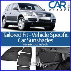Volkswagen Touareg 5dr 03-10 UV CAR SHADES WINDOW SUN BLINDS PRIVACY GLASS TINT