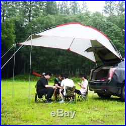 Waterproof Car Tent Awning Rooftop SUV Shelter Truck Car Camping Sunshade Canopy